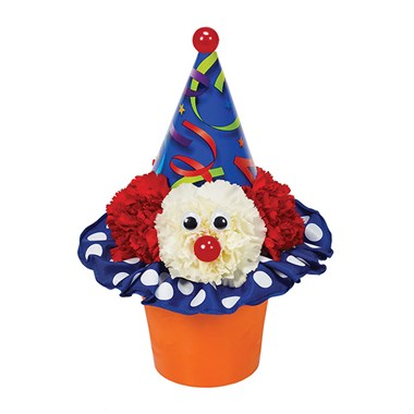 Party Time Clown flower bouquet (BF228-11KM)