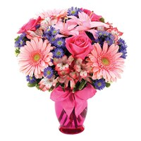 Pink Delight flower bouquet (BF107-11KL)